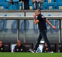 6th October 2021; Arena do Gremio, Porto Alegre, Brazil; Brazilian Serie A, Gremio versus Cuiaba; Cuiaba manager Jorginho