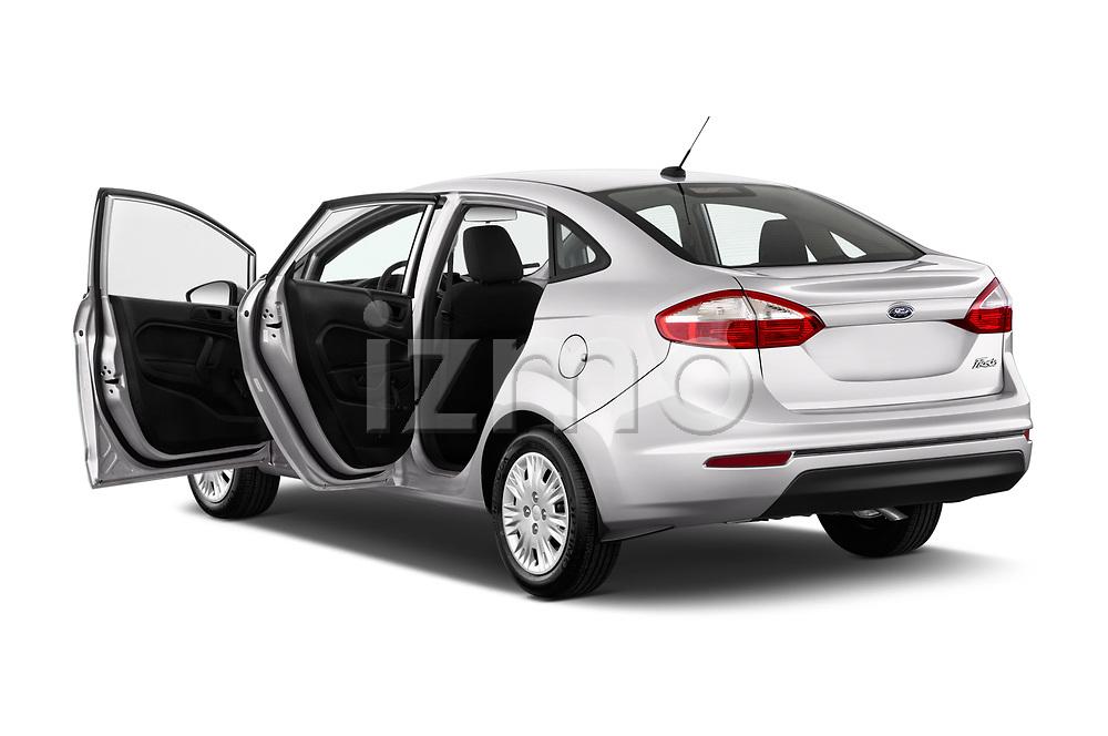 Car images of 2017 Ford Fiesta SE 4 Door Sedan Doors