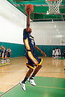 April 10, 2011 - Hampton, VA. USA;  Arthur Lowe participates in the 2011 Elite Youth Basketball League at the Boo Williams Sports Complex. Photo/Andrew Shurtleff