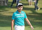 Hung Chien-yao of Taiwan tees off the first hole during the 58th UBS Hong Kong Golf Open as part of the European Tour on 10 December 2016, at the Hong Kong Golf Club, Fanling, Hong Kong, China. Photo by Marcio Rodrigo Machado / Power Sport Images