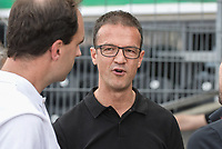 Sport-Vorstand Fredi Bobic (Eintracht Frankfurt), SSV Ulm 1846 - Eintracht Frankfurt, Football, DFB-Pokal,round 1, 18.08.2018<br />DFB RULES PROHIBIT USE IN MMS SERVICES VIA HANDHELD DEVICES UNTIL TWO HOURS AFTER A MATCH AND ANY USAGE ON INTERNET OR ONLINE MEDIA SIMULATING VIDEO FOOdayE DURING THE MATCH. *** Local Caption *** © pixathlon<br /> Contact: +49-40-22 63 02 60 , info@pixathlon.de