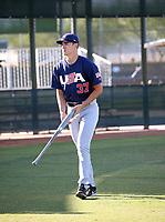 Noah Song - USA Baseball Premier 12 Team - October 25- 28, 2019 (Bill Mitchell)