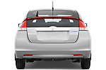 Straight rear view of a 2010 Honda Insight