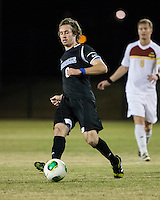 The Winthrop University Eagles beat the UNC Asheville Bulldogs 4-0 to clinch a spot in the Big South Championship tournament.  Mick Giordano (8)