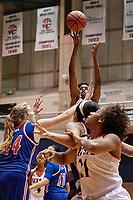 SAN ANTONIO, TX - NOVEMBER 15, 2017: The University of Texas at San Antonio Roadrunners fall to the University of Texas at Arlington Mavericks 69-68 in overtime at the UTSA Convocation Center. (Photo by Jeff Huehn)