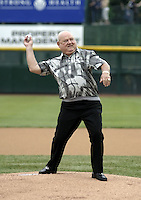 June 17, 2004:  Yankees legend Don Zimmer during an autograph session before a game at Frontier Field in Rochester, NY.  Photo by:  Mike Janes/Four Seam Images