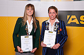 Girls Cycling finalists Lillie Summerville & Amelia Watkinson. ASB College Sport Auckland Secondary School Young Sports Person of the Year Awards held at Eden Park on Thursday 12th of September 2009.