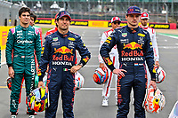 PEREZ Sergio (mex), Red Bull Racing Honda RB16B, portrait VERSTAPPEN Max (ned), Red Bull Racing Honda RB16B, portrait during the Sprint Race of Formula 1 Pirelli British Grand Prix 2021, 10th round of the 2021 FIA Formula One World Championship from July 16 to 18, 2021 on the Silverstone Circuit, in Silverstone, United Kingdom -<br /> Formula 1 GP Great Britain Silverstone 15/07/2021<br /> Photo DPPI/Panoramic/Insidefoto <br /> ITALY ONLY