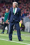 Sporting de Lisboa coach coach Jorge Jesus during UEFA Europa League match between Atletico de Madrid and Sporting de Lisboa at Wanda Metropolitano in Madrid, Spain. April 05, 2018. (ALTERPHOTOS/Borja B.Hojas)