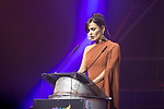 Elena Sanchez during 64 Seminci´s Cinema Festival closing gala. October 26,2019. (ALTERPHOTOS/IVAN TOME)