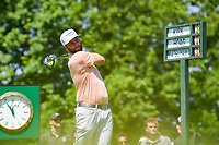 5th June 2021; Dublin, Ohio, USA; Chris Kirk (USA) watches his tee shot on 1 during the Memorial Tournament Rd3 at Muirfield Village Golf Club on June 5, 2021 in Dublin, Ohio.