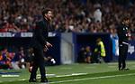 Atletico de Madrid's coach Diego Pablo Simeone during La Liga match. Oct 26, 2019. (ALTERPHOTOS/Manu R.B.)
