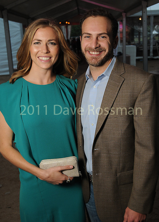 Catherine and Tanner Garth at the Nature Conservancy's Nature Rocks  Gala at the Houston Polo Club Thursday Oct. 22,2015.(Dave Rossman photo)