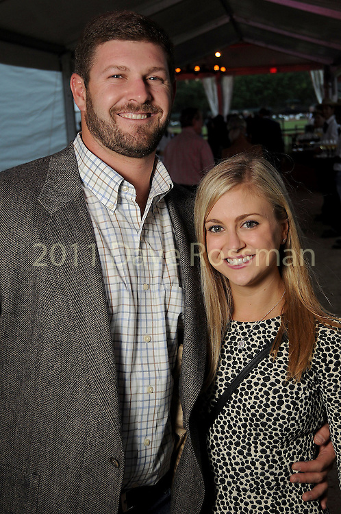 Sydney Turner and Keller Bankstown at the Nature Conservancy's Nature Rocks  Gala at the Houston Polo Club Thursday Oct. 22,2015.(Dave Rossman photo)