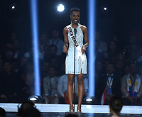 ATLANTA, GA - DECEMBER 8: 2019 MISS UNIVERSE: Miss South Africa, Zozibini Tunzi appears on the 2019 MISS UNIVERSE competition airing LIVE onSunday, Dec. 8(7:00-10:00 PM ET live/PT tape-delayed) on FOX. (Photo by Frank Micelotta/FOX/PictureGroup)