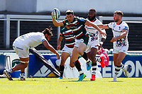 5th June 2021; Mattioli Woods Welford Road Stadium, Leicester, Midlands, England; Gallagher Premiership Rugby, Leicester Tigers versus Bristol Bears; Matt Scott of Leicester Tigers breaks free of the Bristol Bears defence