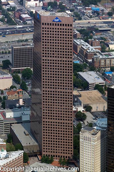 aerial photograph of Atlanta, Georgia