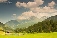 Image Ref: SWISS074<br /> Location: Berggasthaus Aescher, Switzerland<br /> Date of Shot: 22nd June 2017
