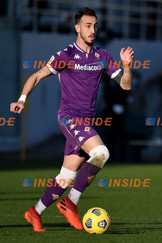 Gaetano Castrovilli of ACF Fiorentina in action during the Italy Cup round of 16 football match between ACF Fiorentina and FC Internazionale at Artemio Franchi stadium in Firenze (Italy), January 13th, 2021. Photo Andrea Staccioli / Insidefoto
