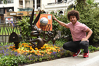 Radzi Chinyanganya<br /> Unveils the new Bugs Bunny Space Jam statue in Leicester Square, London<br /> <br /> ©Ash Knotek  D3568 06/07/2021