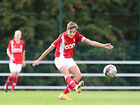 Standard's Maurane Marinucci (7) gives a cross during a female soccer game between Standard Femina de Liege and Oud Heverlee Leuven on the second matchday of the 2020 - 2021 season of Belgian Scooore Women s SuperLeague , saturday 5 th of September 2020  in Angleur , Belgium . PHOTO SPORTPIX.BE | SPP | SEVIL OKTEM
