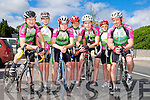 Killarney cyclists who competed at the Cycling County Championships in Kilcummin on Saturday l-r: Joe O'Leary, David Culloty, Cathal Dineen, Oisin O'Connor, Finnian Wall, Daniel Lucey and Greig Whelan