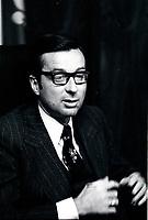 File photo between 1970 and 1976- Quebec Premier Robert Bourassa in his Montreal office