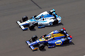 Verizon IndyCar Series<br /> Indianapolis 500 Race<br /> Indianapolis Motor Speedway, Indianapolis, IN USA<br /> Sunday 28 May 2017<br /> Alexander Rossi, Andretti Herta Autosport with Curb-Agajanian Honda and Marco Andretti, Andretti Autosport with Yarrow Honda<br /> World Copyright: Russell LaBounty<br /> LAT Images