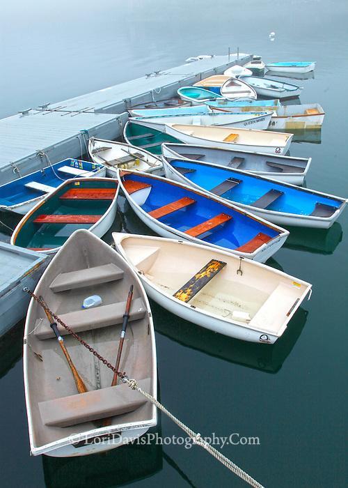 Colorful Skiffs #S76