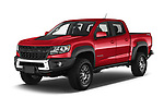2021 Chevrolet Colorado ZR2 4 Door Pick-up Angular Front automotive stock photos of front three quarter view
