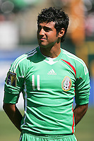 Carlos Vela. Mexico defeated Nicaragua 2-0 during the First Round of the 2009 CONCACAF Gold Cup at the Oakland, Coliseum in Oakland, California on July 5, 2009.