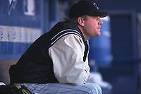 Curt Schilling of the Arizona Diamondbacks during a 2001 season MLB game at Dodger Stadium in Los Angeles, California. (Larry Goren/Four Seam Images)