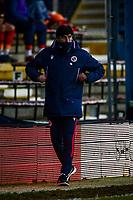 9th January 2021; Kenilworth Road, Luton, Bedfordshire, England; English FA Cup Football, Luton Town versus Reading; Veljko Paunović Reading manager.