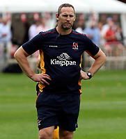 Thursday 9th September 20218 <br /> <br /> Craig Newby during the pre-season friendly between Saracens and Ulster Rugby at the Honourable Artillery Company Grounds, Armoury House, London, England. Photo by John Dickson/Dicksondigital