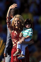 Shakira with her son Milan Pique