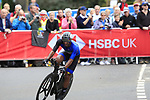 Saied Jafer Alali (KUW) in action during the Men Elite Individual Time Trial of the UCI World Championships 2019 running 54km from Northallerton to Harrogate, England. 25th September 2019.<br /> Picture: Eoin Clarke | Cyclefile<br /> <br /> All photos usage must carry mandatory copyright credit (© Cyclefile | Eoin Clarke)