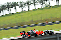 French Charles Pic on Marussia MR01.24/03/2012 Grand Prix Malesia, Sepang , Essais..Foto Insidefoto  /Bernard Asset / Panoramic.ITALY ONLY..