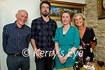 Enjoying the evening in Bella Bia on Saturday, l to r: Noel Scanlon, Ian Duane, Aoide and Kathy Scanlon from Tralee
