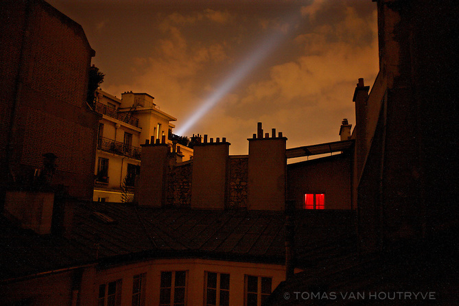 Rooftops in the sixth arrondissement of Paris, France on 5 June, 2006.<br />