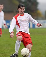 KVC SV Oostkamp : Kjell Langeraet<br /> Foto VDB / Bart Vandenbroucke