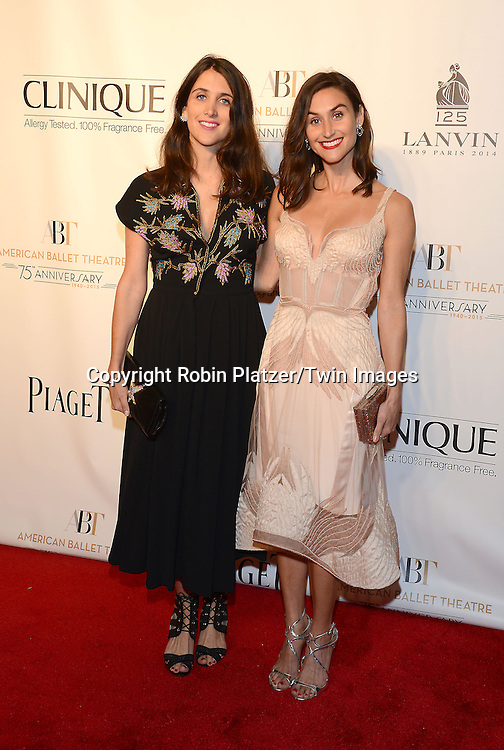 DanniJo Jewelry designers attends the Opening Night of American Ballet Theatre 2014 Fall Gala on October 22,2014 at the David Koch Theater at Lincoln Center in New York City. <br /> <br /> photo by Robin Platzer/Twin Images<br />  <br /> phone number 212-935-0770