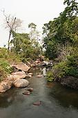 Aldeia Baú, Para State, Brazil. Stony stream.