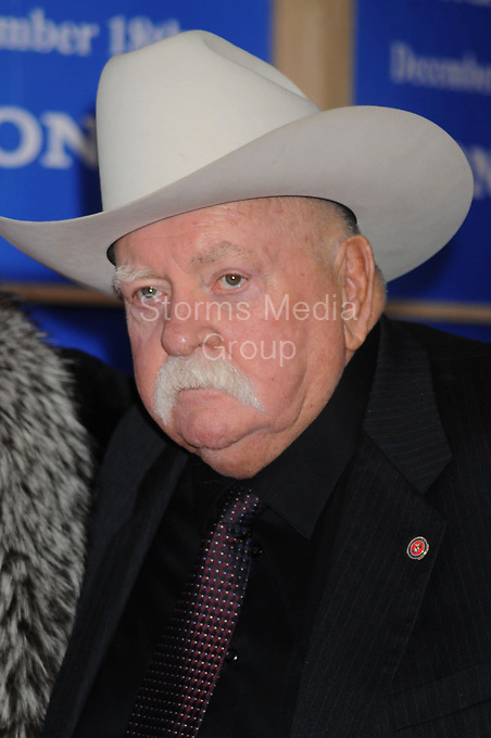 NEW YORK - DECEMBER 14: Actor Wilford Brimley attends a screening of the movie 'Did You Hear About The Morgans' held at the Zegfeld theater in Manhattan on December 14, 2009 in New York City<br /> <br /> People:    Wilford Brimley