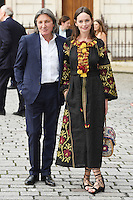 Yana Boyko and Leon Max arrive for the VIP preview of the Royal Academy of Arts Summer Exhibition 2016