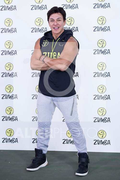 Beto Perez during the presentation of Zumba Academy at Momo Caja Magica in Madrid, Spain. March 19, 2017. (ALTERPHOTOS/BorjaB.Hojas)