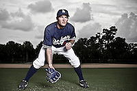 BASEBALL - MLB - VERO BEACH, DODGERTOWN (USA) - 04/08/2008 - JORIS BERT (LOS ANGELES DODGERS)..On june 8, 2007, Joris Bert became the first French baseball player in history to be drafted by a Major League Baseball franchise. He was selected during the 19th round (596th overall) of the 2007 players draft by the Los Angeles Dodgers.