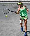 April  4, 2017:  Sofia Kenin (USA) loses to Bethany Mattek-Sands, (USA) 6-4, 6-4 at the Volvo Car Open being played at Family Circle Tennis Center in Charleston, South Carolina.  ©Leslie Billman/Tennisclix/Cal Sport Media