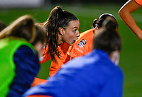 Silke Vanwynsberghe (21) of AA Gent pictured during a female soccer game between  Racing Genk Ladies and AA Gent Ladies on the eleventh matchday of the 2020 - 2021 season of Belgian Scooore Womens Super League , friday 22 th of January 2021  in Genk , Belgium . PHOTO SPORTPIX.BE   SPP   DAVID CATRY