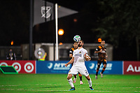 LAKE BUENA VISTA, FL - JULY 23: Perry Kitchen #2 of the LA Galaxy receives the ball during a game between Los Angeles Galaxy and Houston Dynamo at ESPN Wide World of Sports on July 23, 2020 in Lake Buena Vista, Florida.