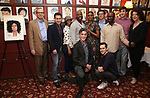 Barry Grove, Lynne Meadow and the cast of 'Saint Joan' with Condola Rashad attends the Sardi's portrait unveiling for Condola Rashad at Sardi's Restaurant on May 10, 2018 in New York City.